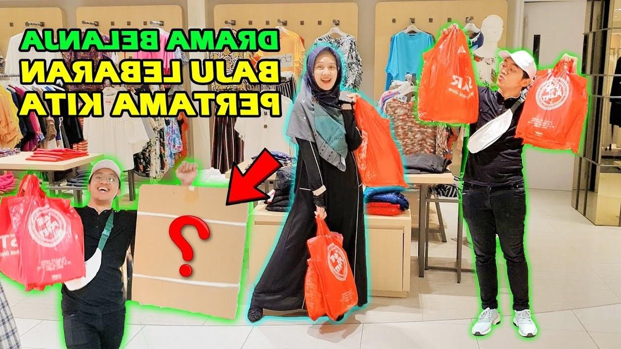 Design Belanja Baju Lebaran Rldj Drama Belanja Baju Lebaran Pertama Kita 👩🧑