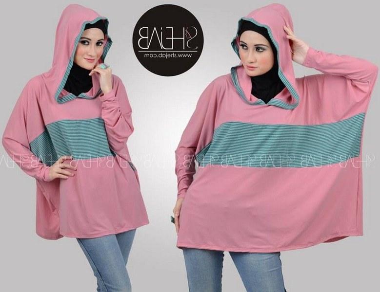 Design Koleksi Baju Lebaran Terbaru 0gdr Contoh Desain Baju Hijab Untuk Lebaran Terbaru