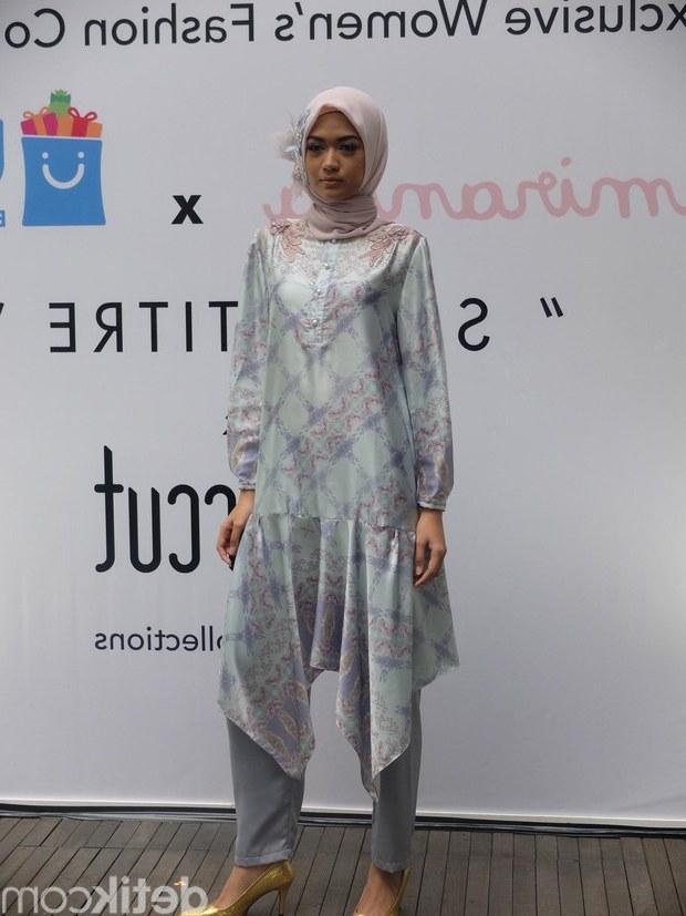 Design Koleksi Baju Lebaran Terbaru Dwdk Foto Koleksi Baju Hijab Terbaru Ria Miranda Untuk Mudik