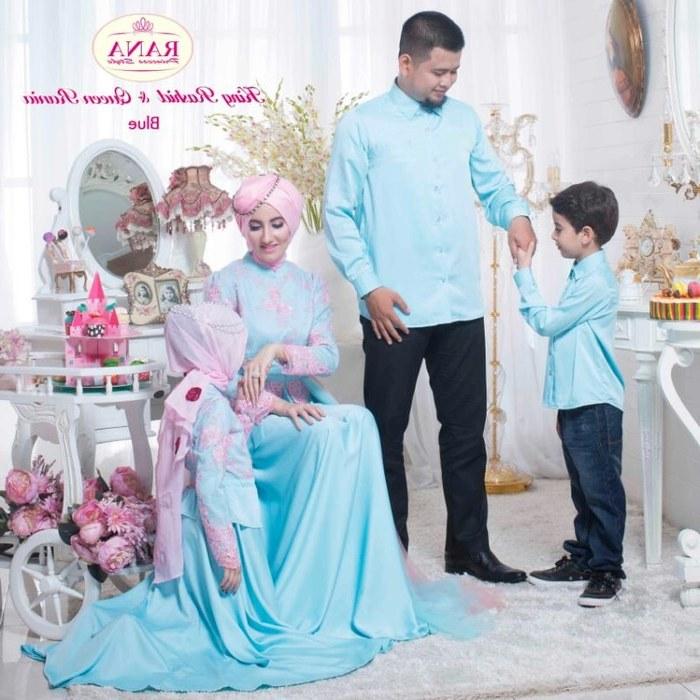 Design Model Baju Lebaran 2018 Anak Perempuan S1du Inspirasi Model Baju Lebaran 2018 Untuk Keluarga Demi Sista