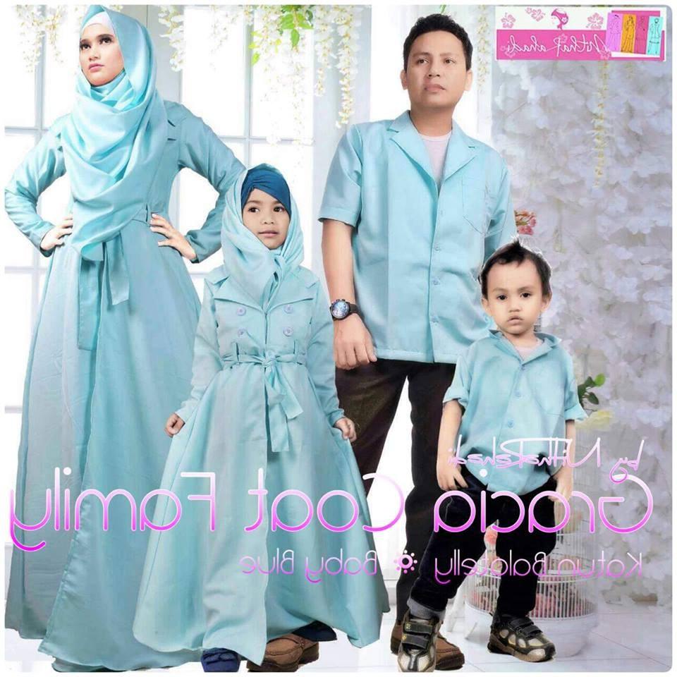 Design Model Baju Lebaran 2018 Keluarga O2d5 25 Model Baju Lebaran Keluarga 2018 Kompak & Modis