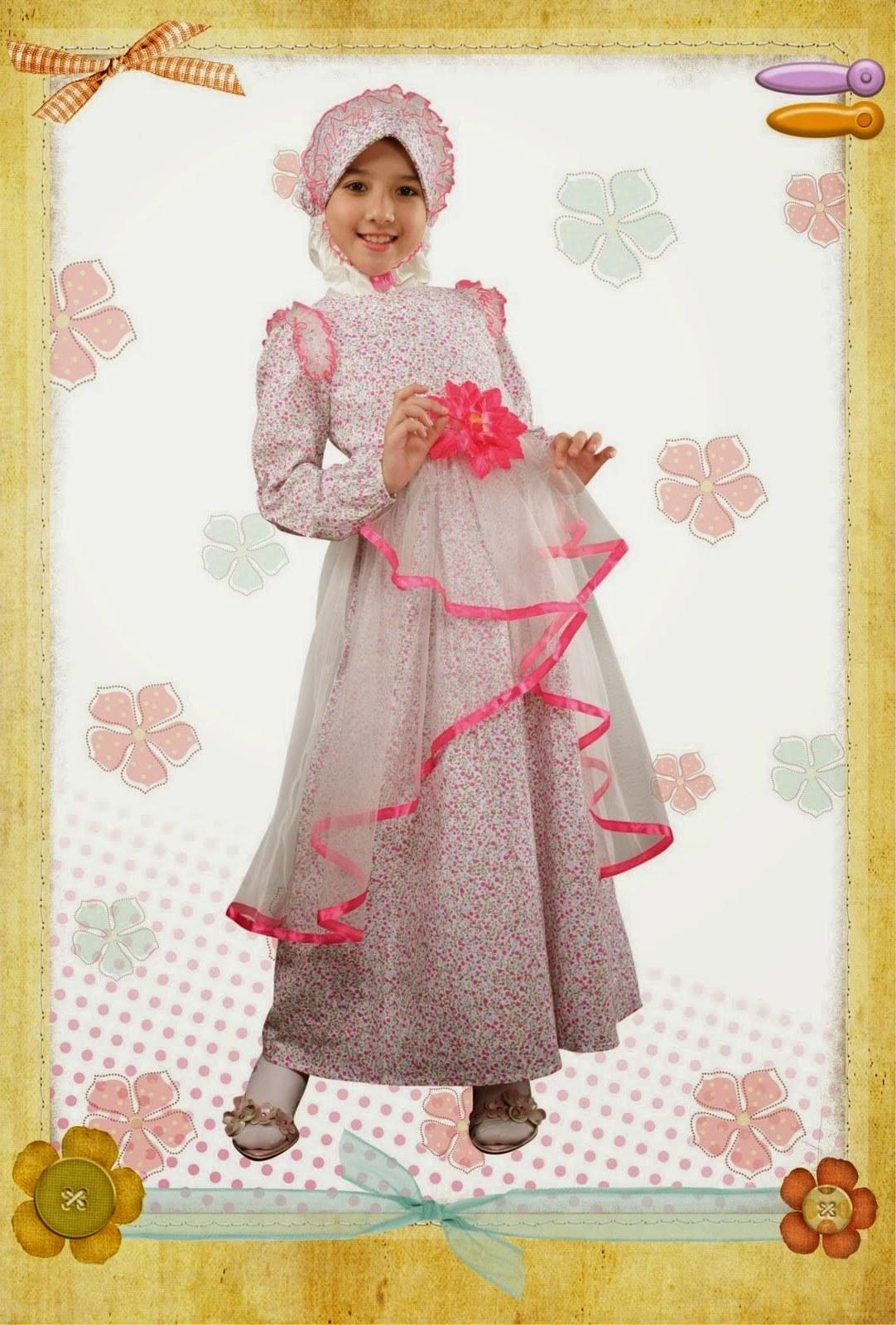 Design Model Baju Lebaran Anak Perempuan Etdg 20 Contoh Model Baju Muslim Anak Perempuan Terbaru