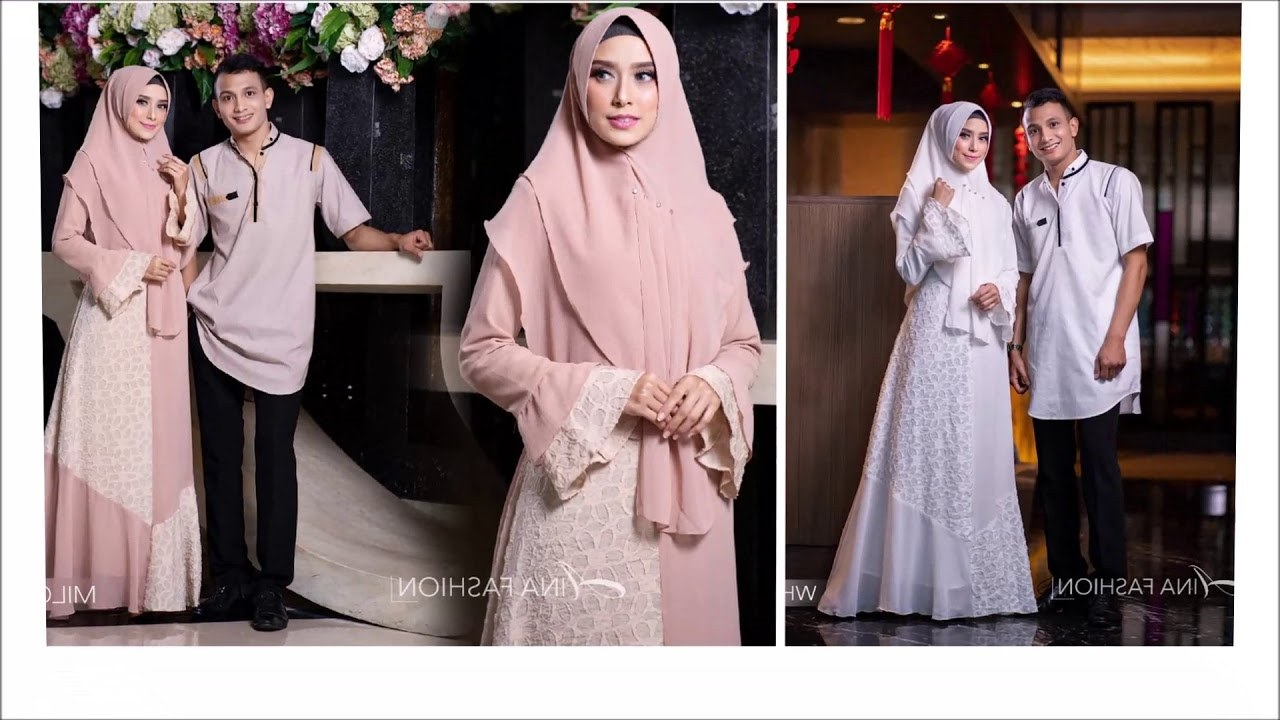 Design Model Baju Lebaran Gamis 2019 8ydm Model Baju Keluarga Muslim Untuk Lebaran Dan Idul Fitri
