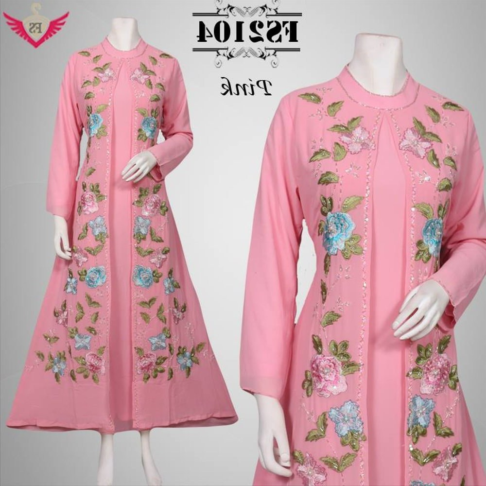 Design Model Baju Lebaran Idul Adha 3id6 Jual Baju Muslim Idul Fitri Pink Model Terbaru 2016 Baju