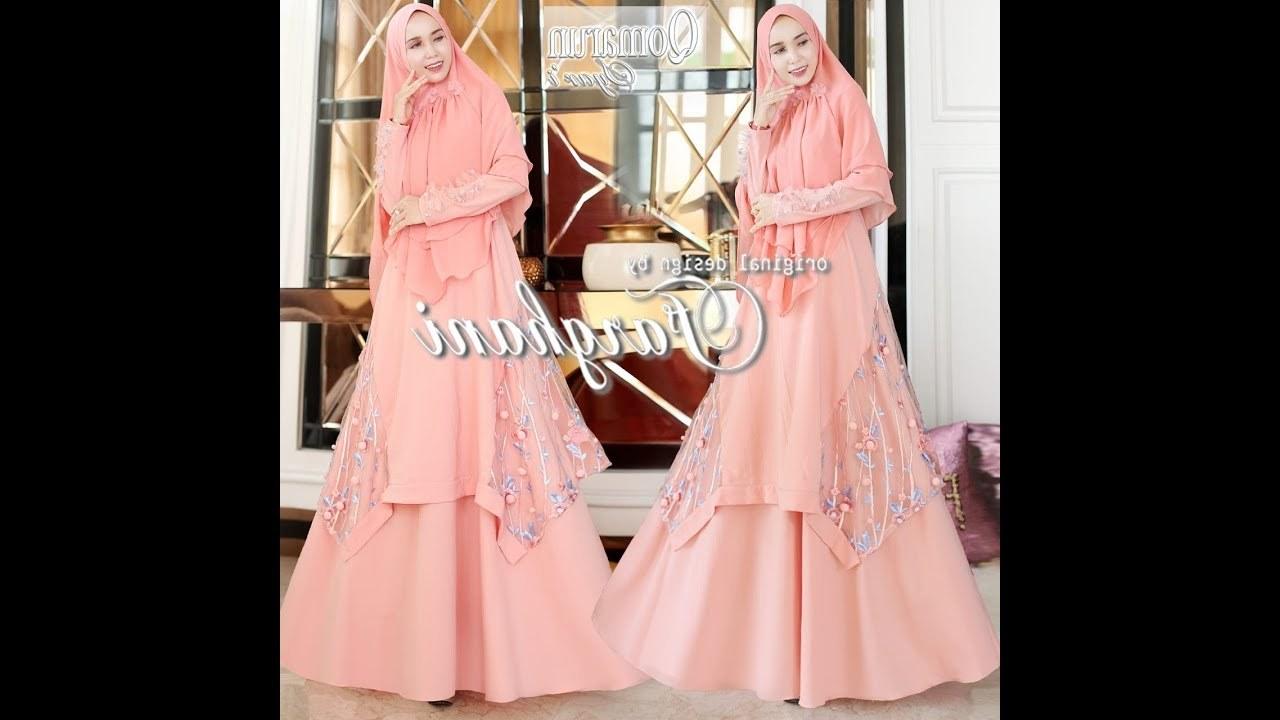 Design Model Baju Lebaran Idul Adha Whdr Model Baju Gamis 2019 Syari Untuk Pesta Lebaran Idul Fitri