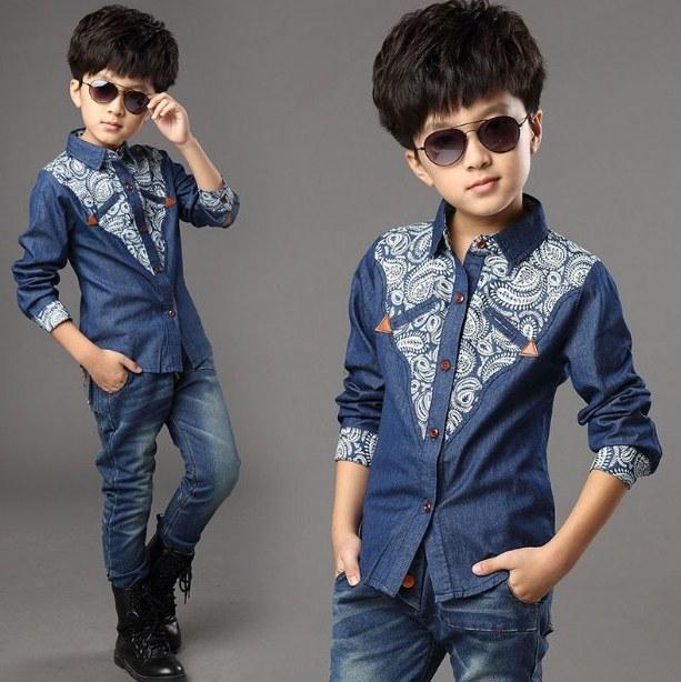 Design Model Baju Lebaran Laki Laki Txdf 21 Model Kemeja Anak Laki Laki Terbaru 2019 Modis & Keren