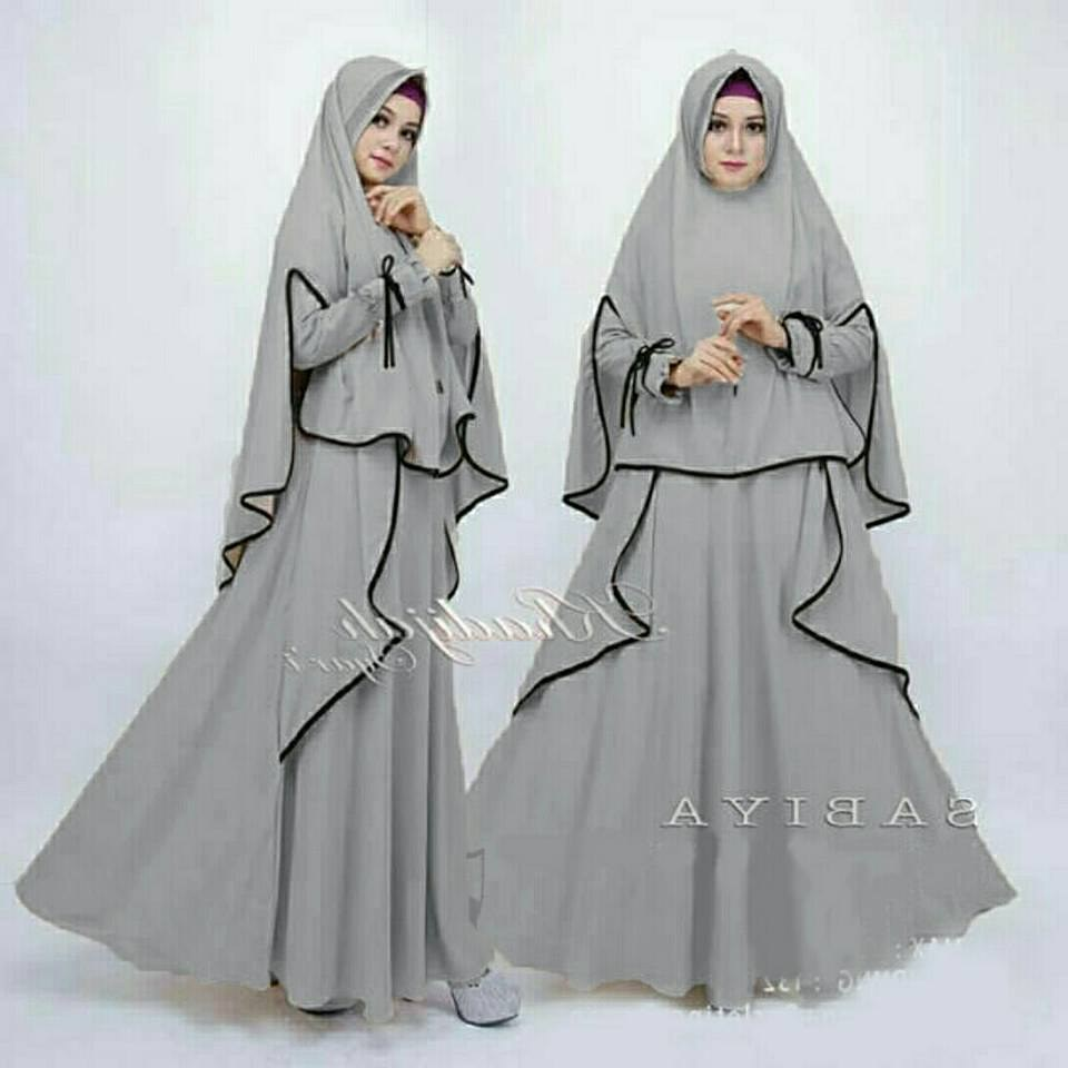Design Model Baju Lebaran Muslim 2018 Kvdd 80 Model Baju Lebaran Terbaru 2019 Muslimah Trendy Model