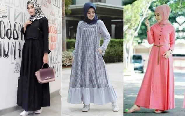 Design Model Baju Lebaran Muslimah Ffdn Baju Lebaran Model Terbaru Untuk Remaja Muslimah 2019