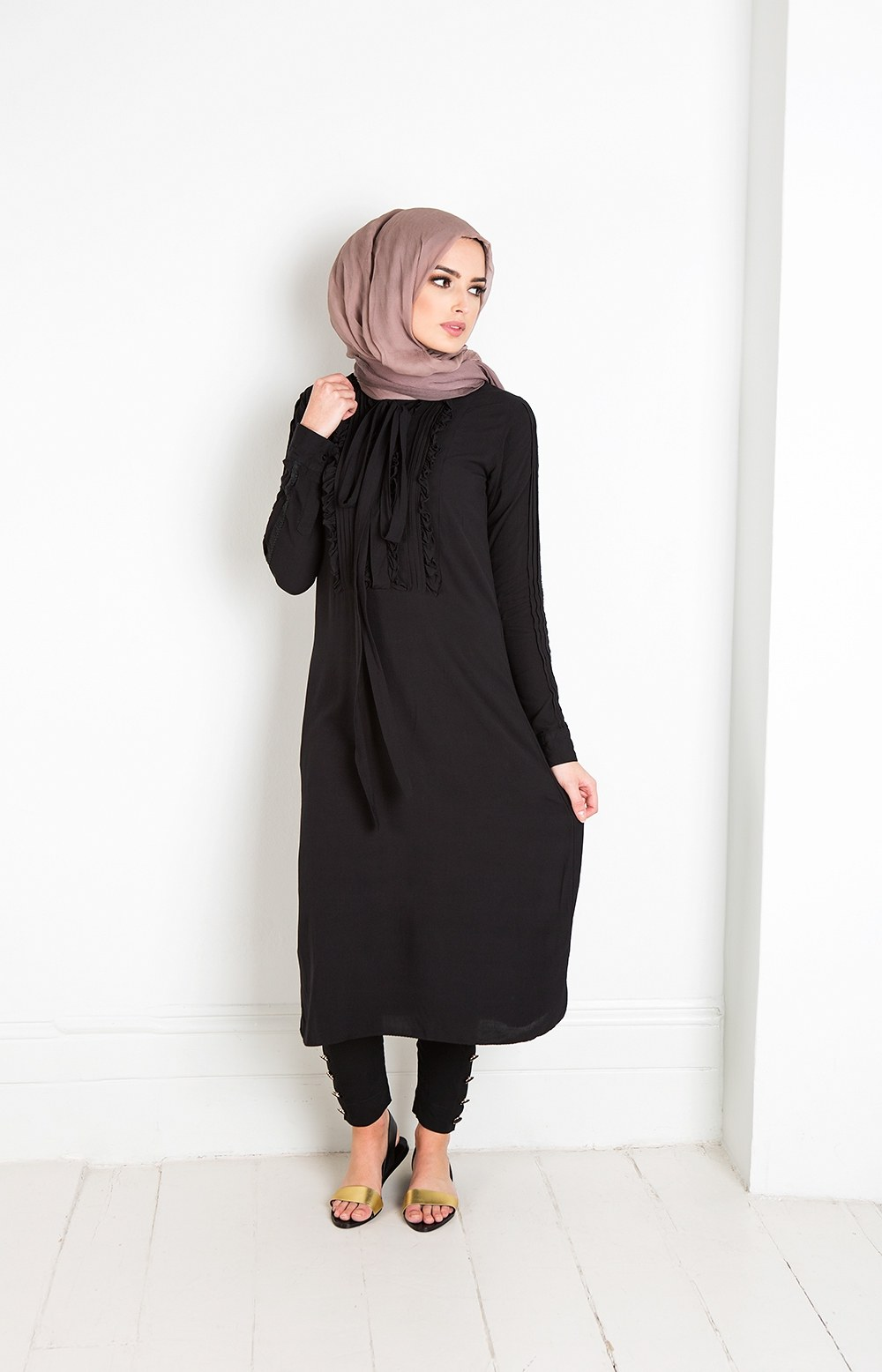 Design Model Baju Lebaran Muslimah Q5df 25 Trend Model Baju Muslim Lebaran 2018 Simple & Modis