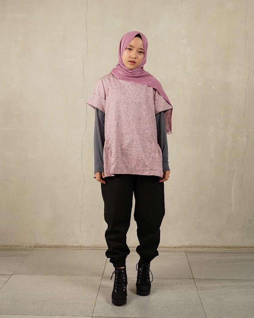 Design Model Baju Lebaran Nissa Sabyan Budm 10 Inspirasi A Kasual Nissa Sabyan Bikin Hari Lebaran