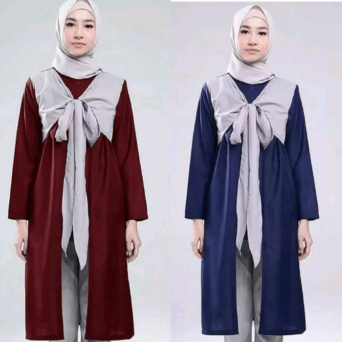 Design Model Baju Lebaran Nissa Sabyan Dddy 30 Model Baju Tunik Nissa Sabyan Fashion Modern Dan