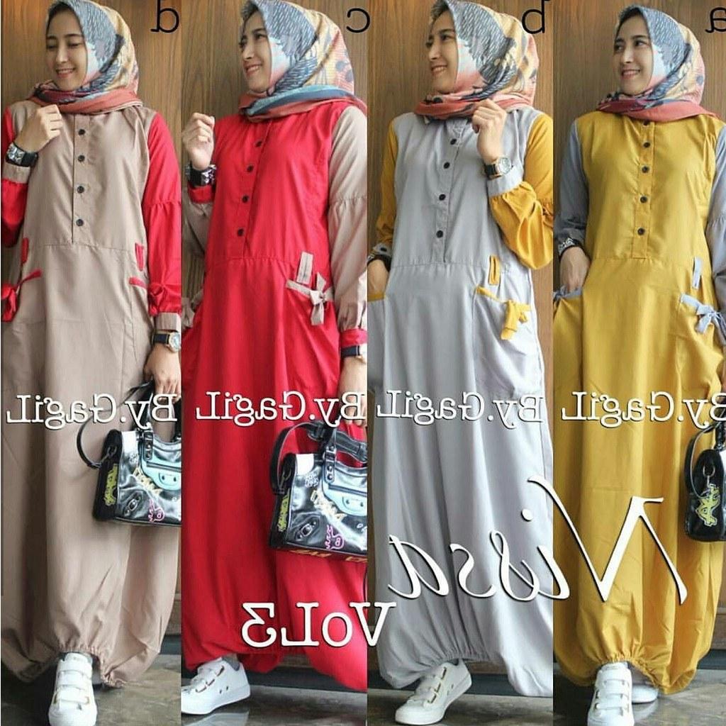 Design Model Baju Lebaran Nissa Sabyan O2d5 30 Model Baju Gamis Nissa Sabyan Fashion Modern Dan