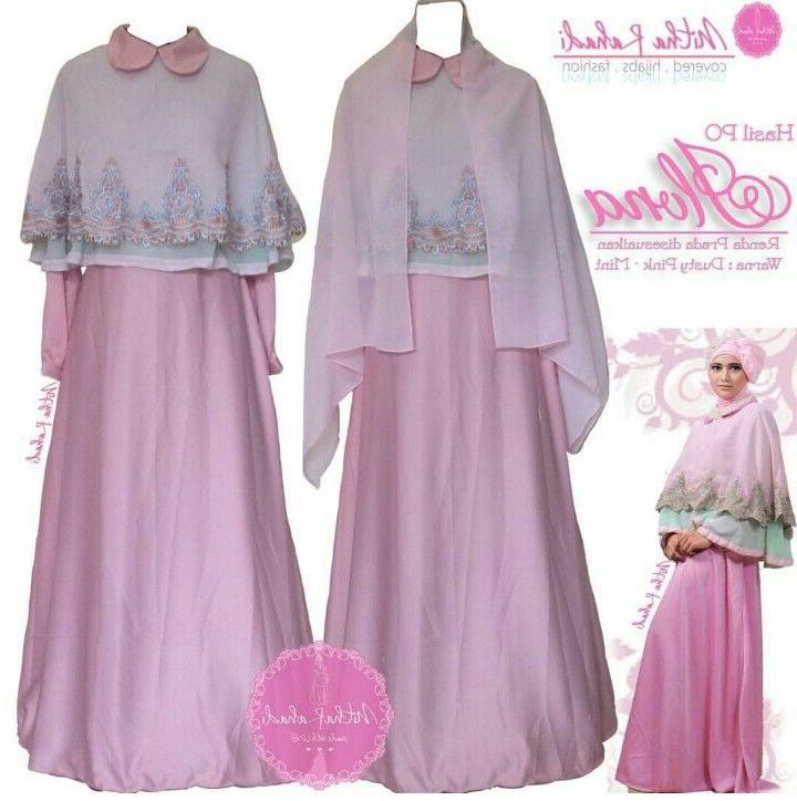 Design Model Baju Lebaran Seragam Keluarga Drdp Gamis Pesta Dan Baju Lebaran Seragam Keluarga Ilona Dress
