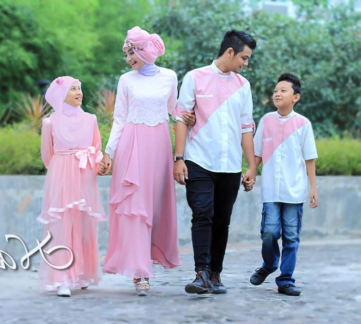 Design Model Baju Lebaran Seragam Keluarga Fmdf Baju Muslim Modern Keluarga Seragam