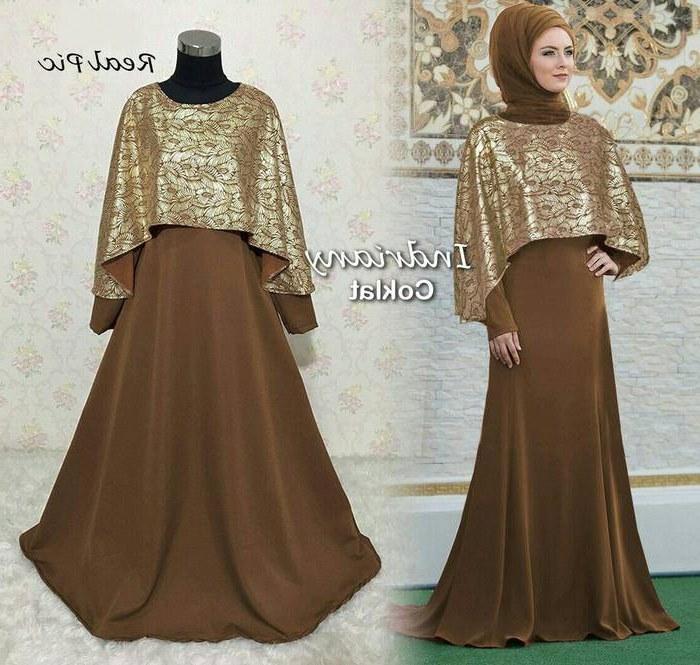 Design Model Baju Lebaran Tahun Ini Tldn Baju Gamis Lebaran Indriany Gamisalya