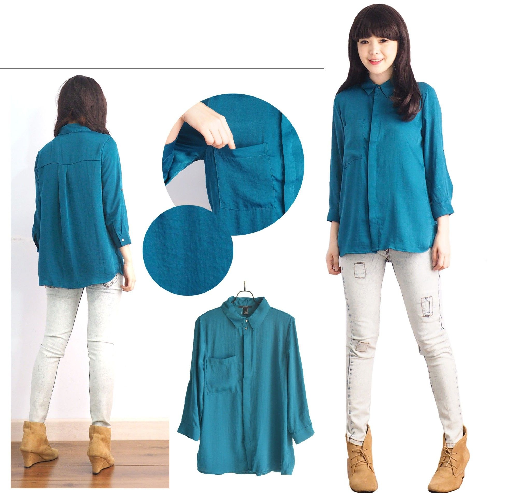 Design Model Baju Lebaran Terkini Zwd9 Blouse Muslim Model Pakaian Wanita Terbaru Pakaian Bayi