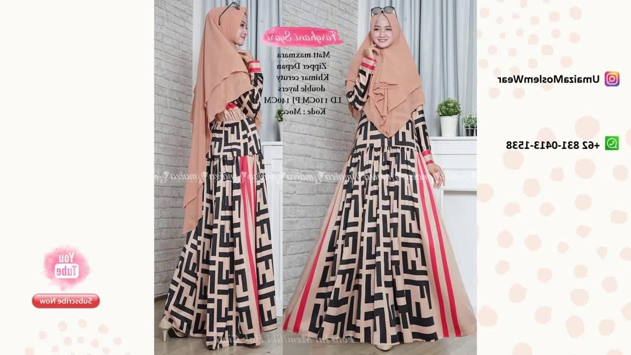 Design Model Baju Lebaran Wanita 2019 D0dg Model Baju Gamis Brokat Terbaru Lebaran 2019 Wa 62 831