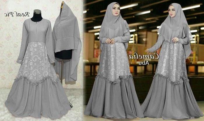 Design Model Baju Lebaran Wanita 2019 Thdr Model Baju Gamis Terbaru Tahun 2019 Paling – Cantik Menawan
