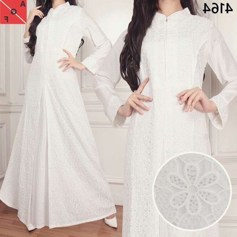 Design Model Baju Lebaran Warna Putih Irdz 30 Model Baju Gamis Putih Untuk Lebaran Fashion Modern