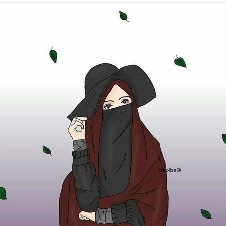 Design Muslimah Bercadar Cantik Kartun Tldn 75 Gambar Kartun Muslimah Cantik Dan Imut Bercadar