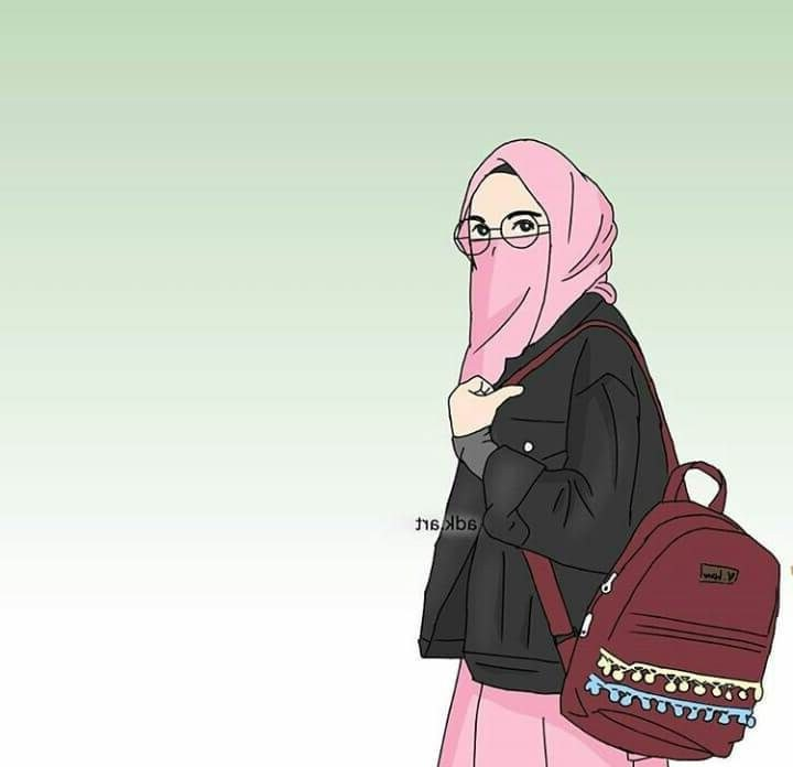 Design Muslimah Bercadar Kartun Txdf Gambar Kartun Muslimah Koleksi Gambar Hd