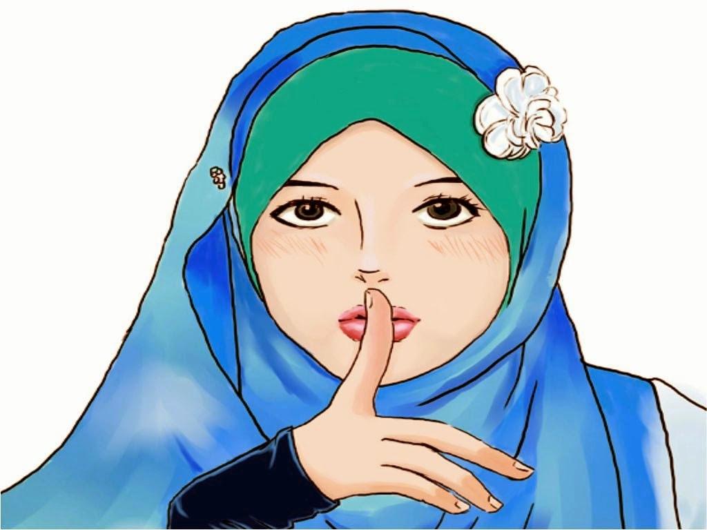 Design Muslimah Kartun Fmdf Wallpaper Muslimah Cute