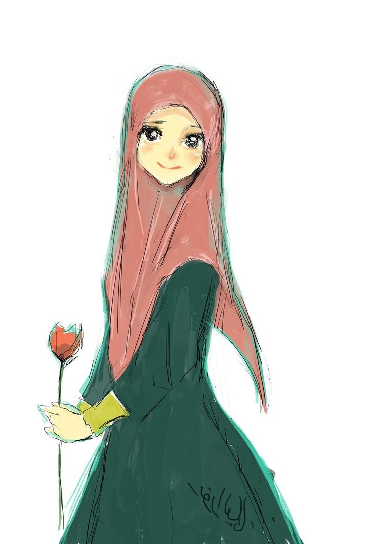 Design Muslimah Kartun H9d9 Sweet by Yana8nurel6bdkbaik On Deviantart