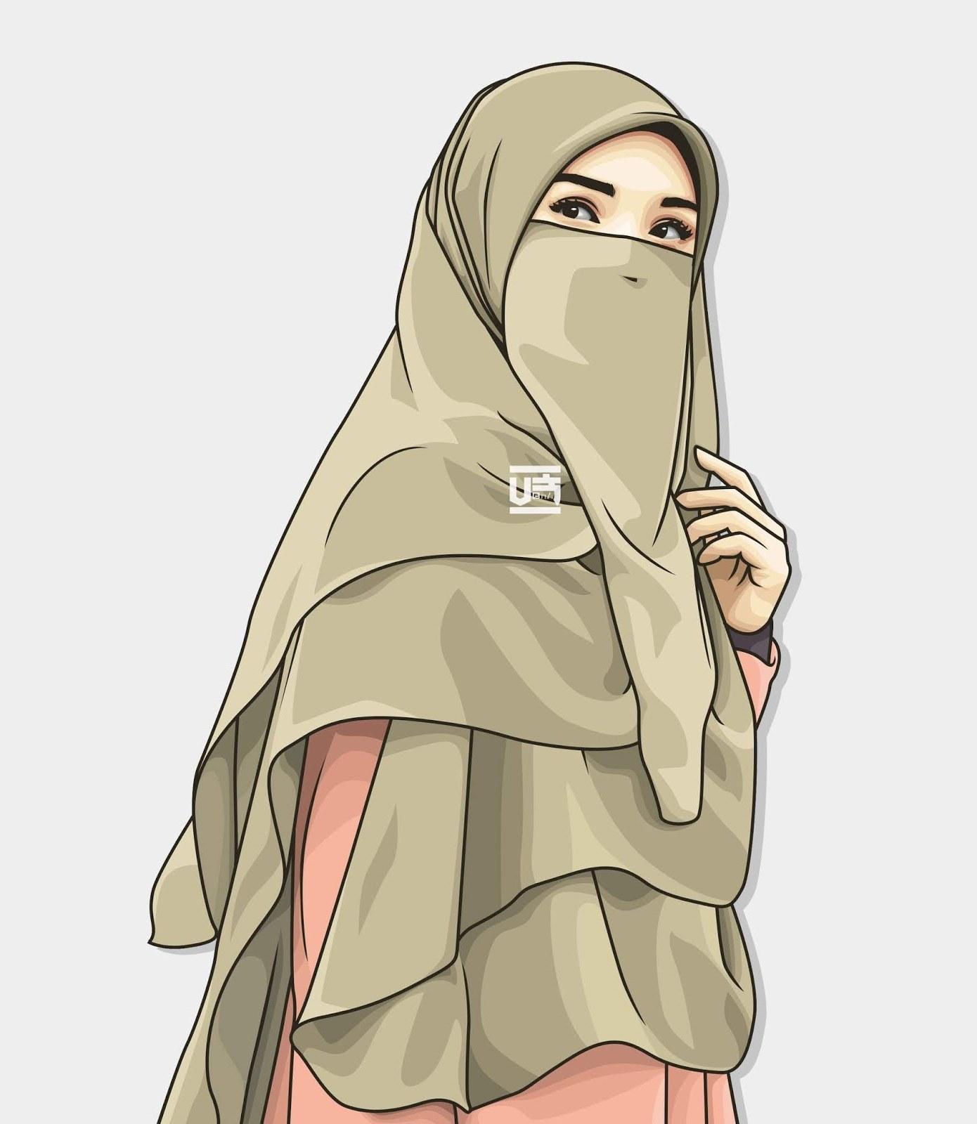 Design Muslimah Kartun Irdz Kumpulan Kartun Anime Muslimah Bercadar Blog Ely Setiawan