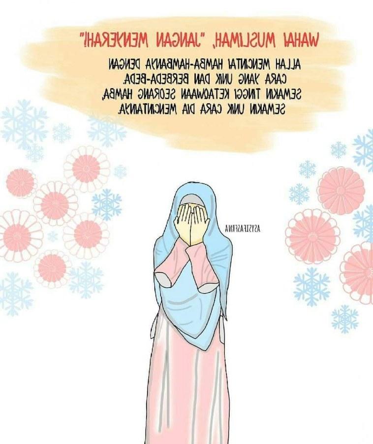 Design Muslimah Kartun Sedih Qwdq 2019 Gambar Kartun Muslimah Terbaru Kualitas Hd
