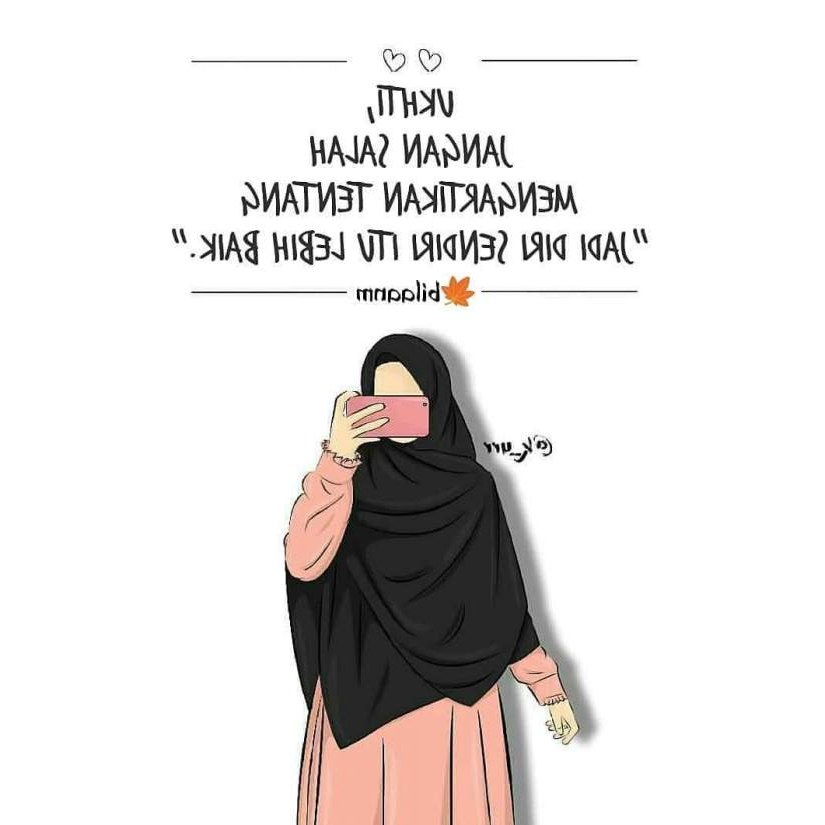 Design Muslimah Kartun Sedih S5d8 Image Cartoon Muslimah Impremedia