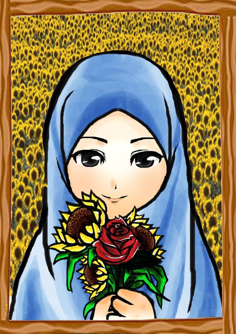 Design Muslimah Kartun Tldn Kartun Muslimah Part 2 Viral Cinta