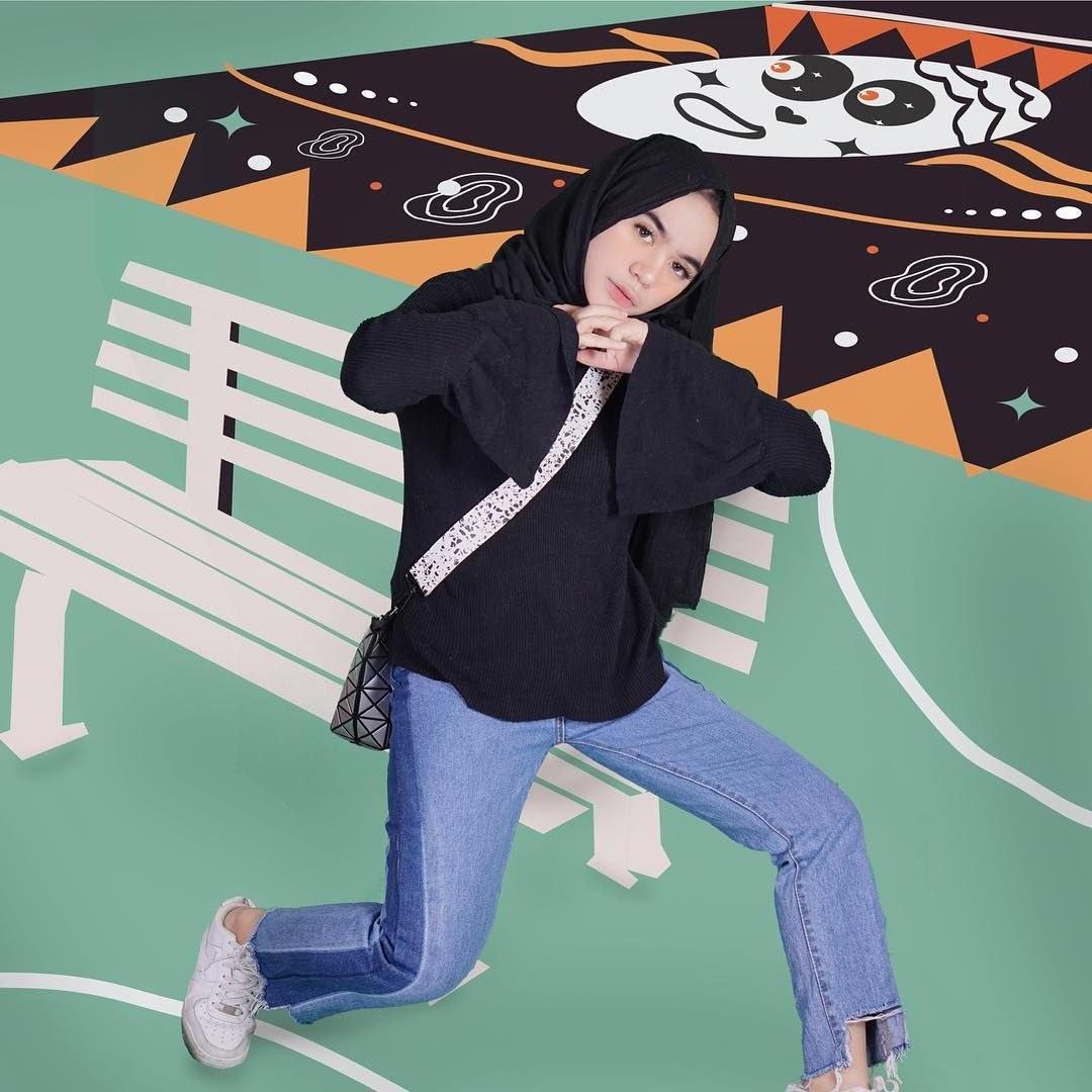 Design Ootd Baju Lebaran Remaja 2020 8ydm Outfit Baju Remaja Berhijab Ala Selebgram 2018 top Blouse