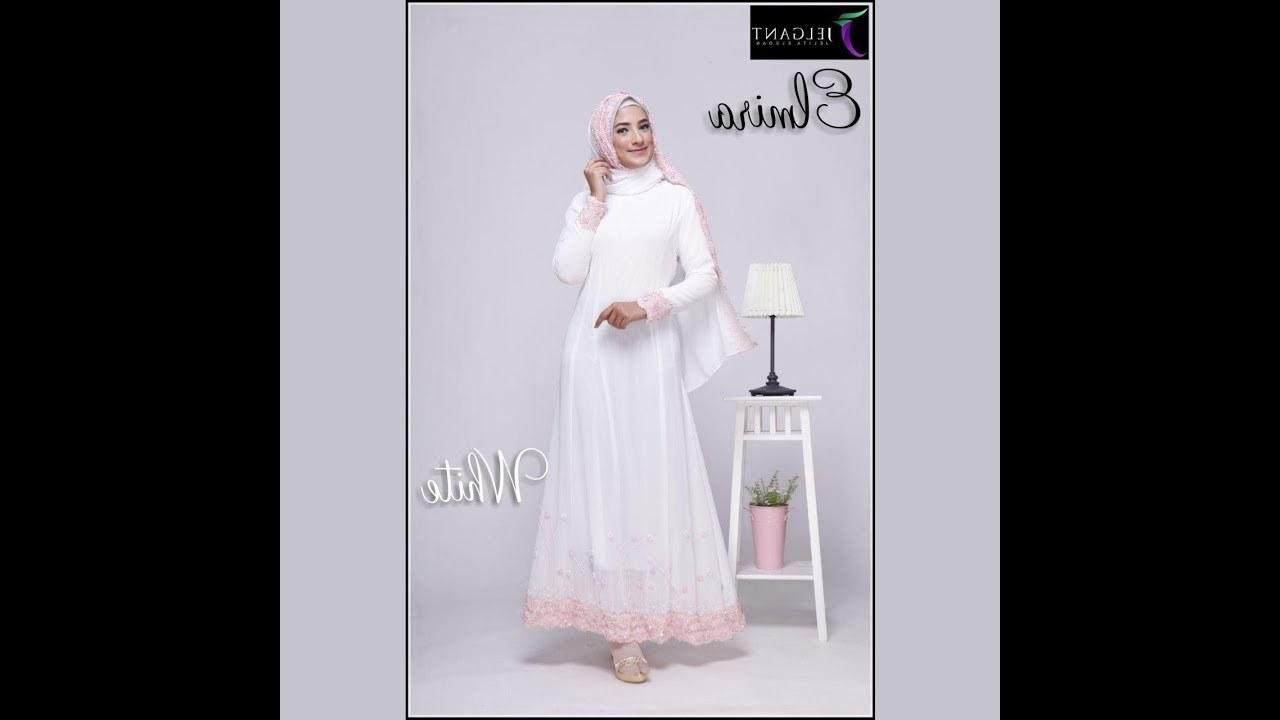 Design Rekomendasi Baju Lebaran 2018 Mndw Fesyen Baju Raya 2018 Muslimah Fashion Terkini