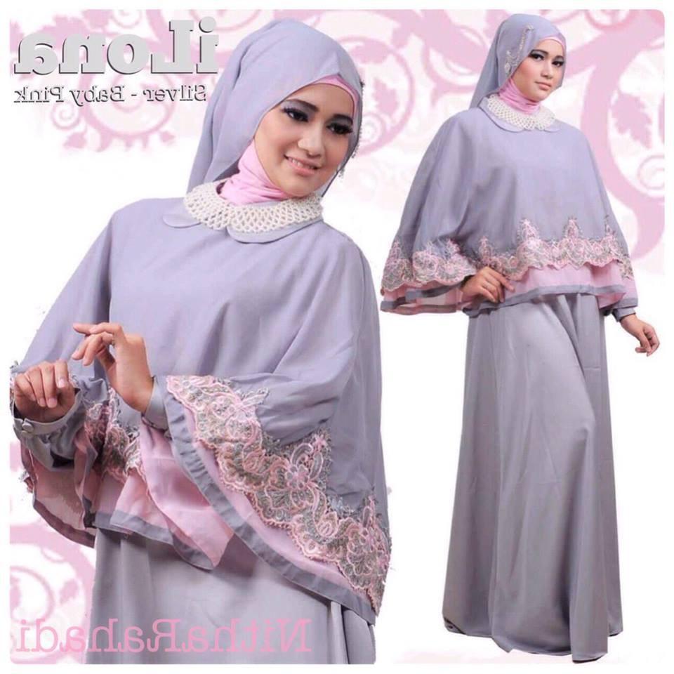 Design Seragam Baju Lebaran Keluarga S1du Gamis Pesta Dan Baju Lebaran Seragam Keluarga Ilona Dress