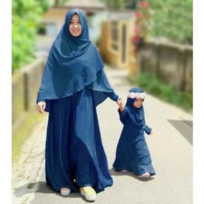 Design Trend Baju Lebaran Anak Perempuan 2018 Dddy Jual Trend 5278 Baju Lebaran Couple Ibu Dan Anak 3 5 Thn