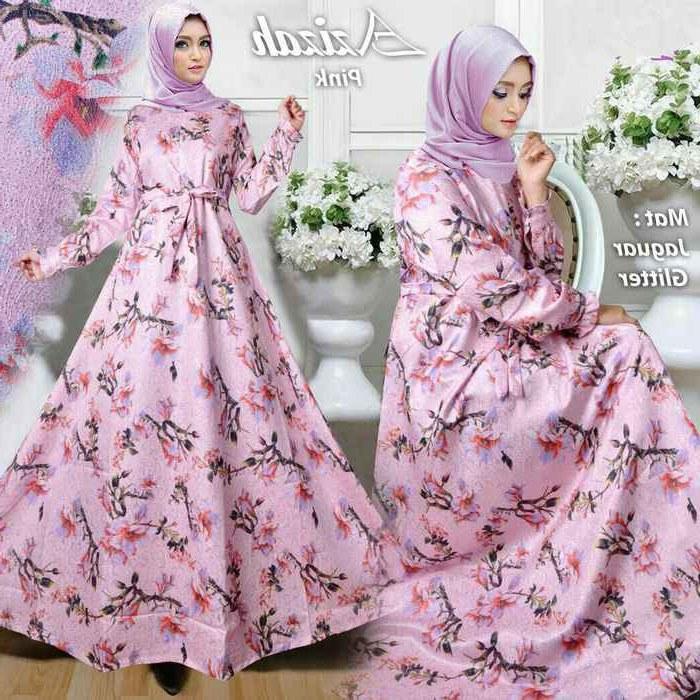 Design Warna Baju Lebaran 2018 9fdy Baju Lebaran 2018 Azizah Pink