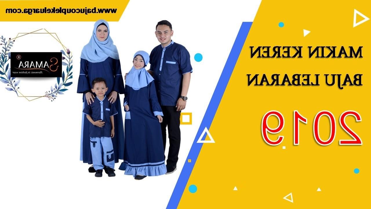 Design Warna Baju Lebaran 2019 Keluarga 0gdr Baju Couple Keluarga Ini Akan Buat Lebaran 2019 Kamu Makin