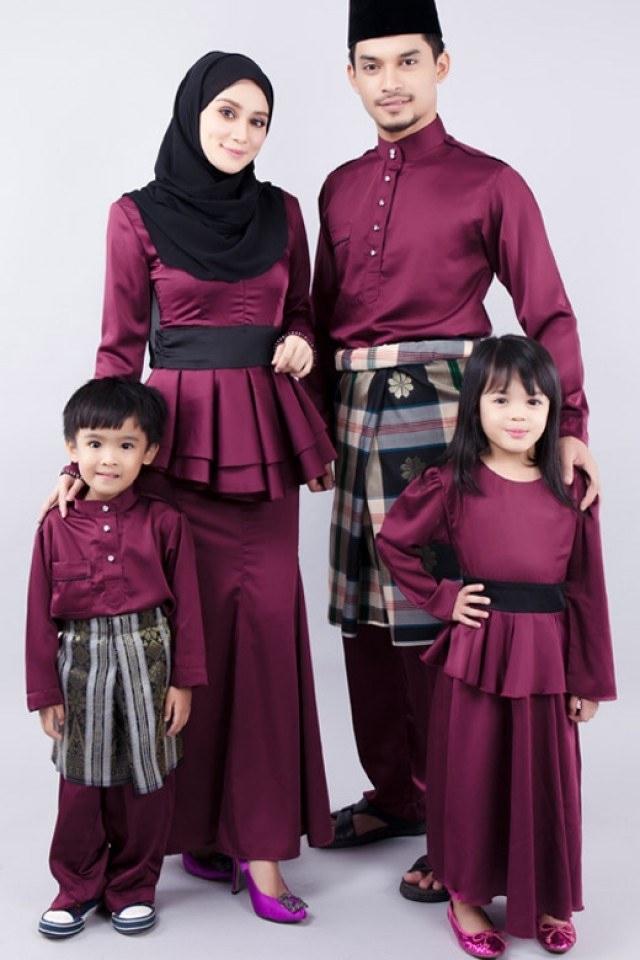 Design Warna Baju Lebaran 2019 Keluarga Dddy 27 Trend Design Baju Raya 2020 Lelaki Dan Wanita Terkini