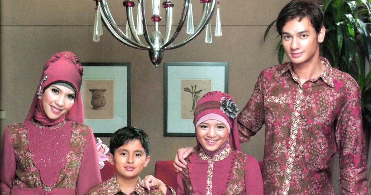 Ide Baju Lebaran 2018 Keluarga 3ldq 25 Model Terbaik Baju Batik Keluarga Muslim Untuk