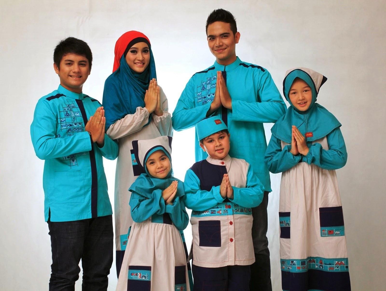 Ide Baju Lebaran 2018 Keluarga Tldn Model Baju Muslim Gamis Modern Terbaru 2018 Untuk Lebaran