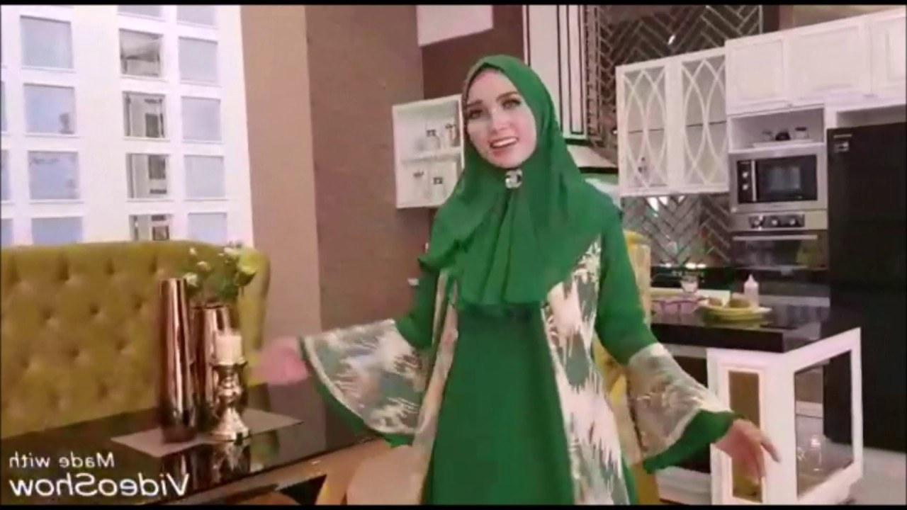 Ide Baju Lebaran 2019 Wanita S5d8 Model Baju Gamis 2019