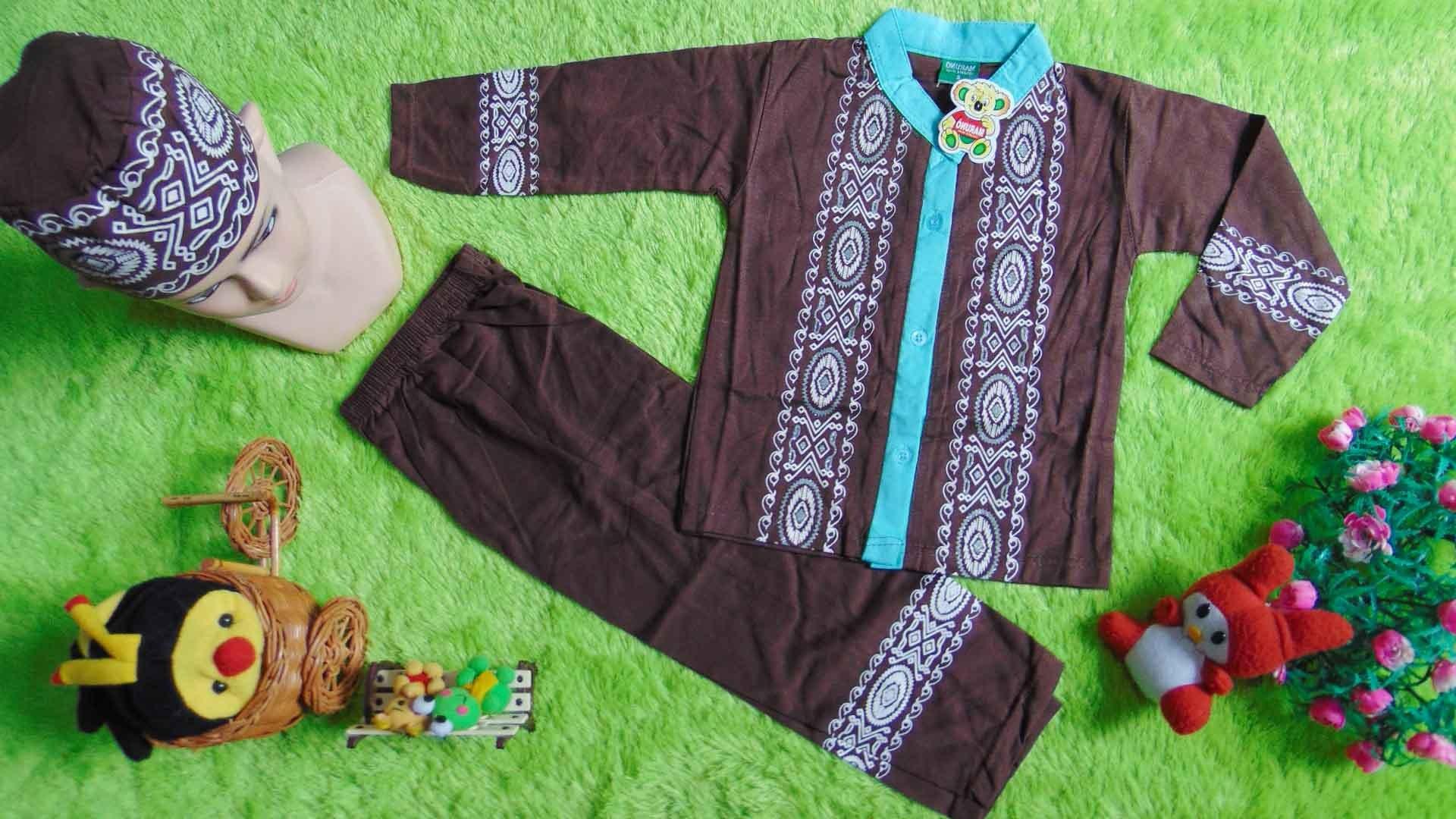 Ide Baju Lebaran Anak 2 Tahun Qwdq Paling Laris Setelan Baju Koko Muslim Lebaran Ramadhan