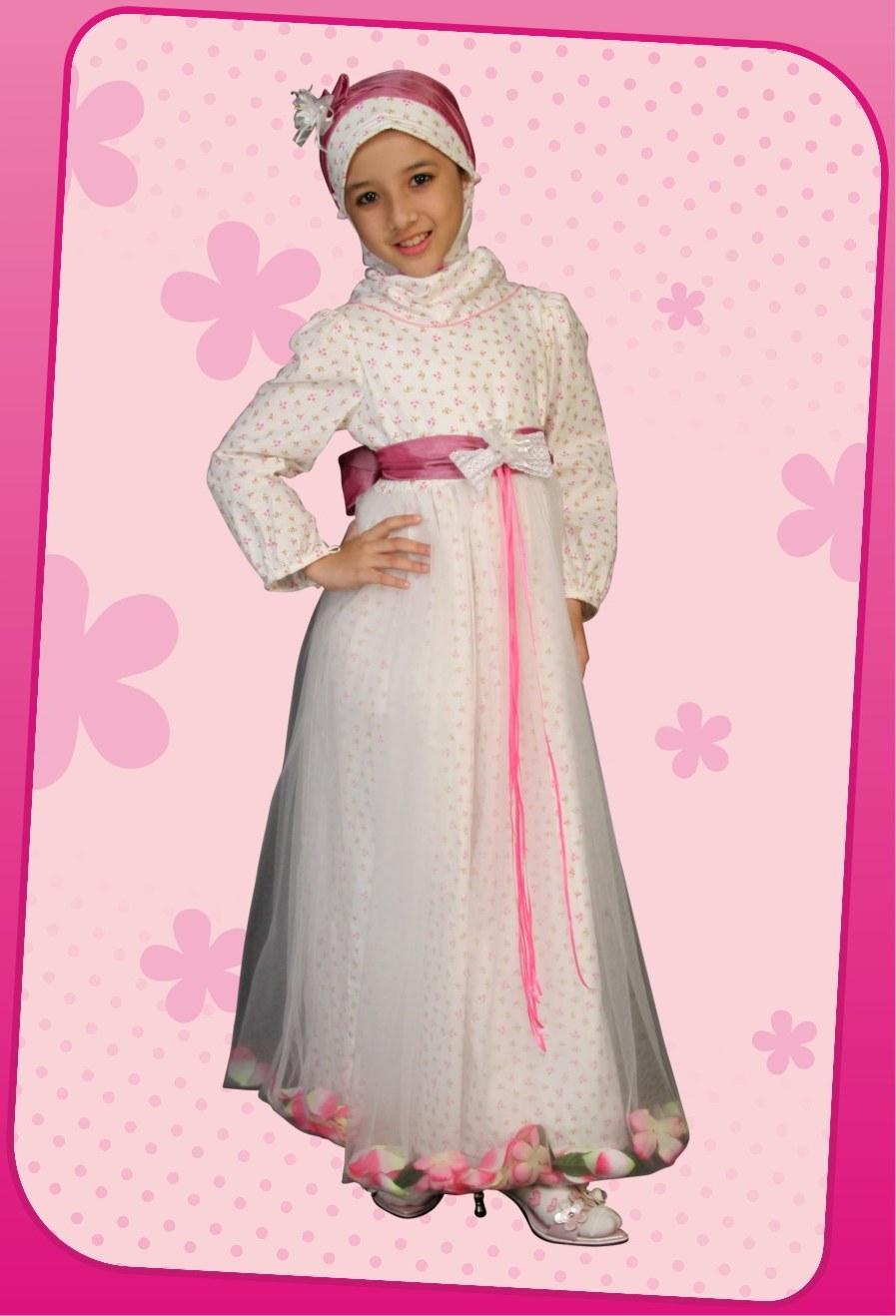 Ide Baju Lebaran Anak Muslim 3ldq Be Happy Young Mother Busana Muslim 3 Koleksi Lebaran 2010