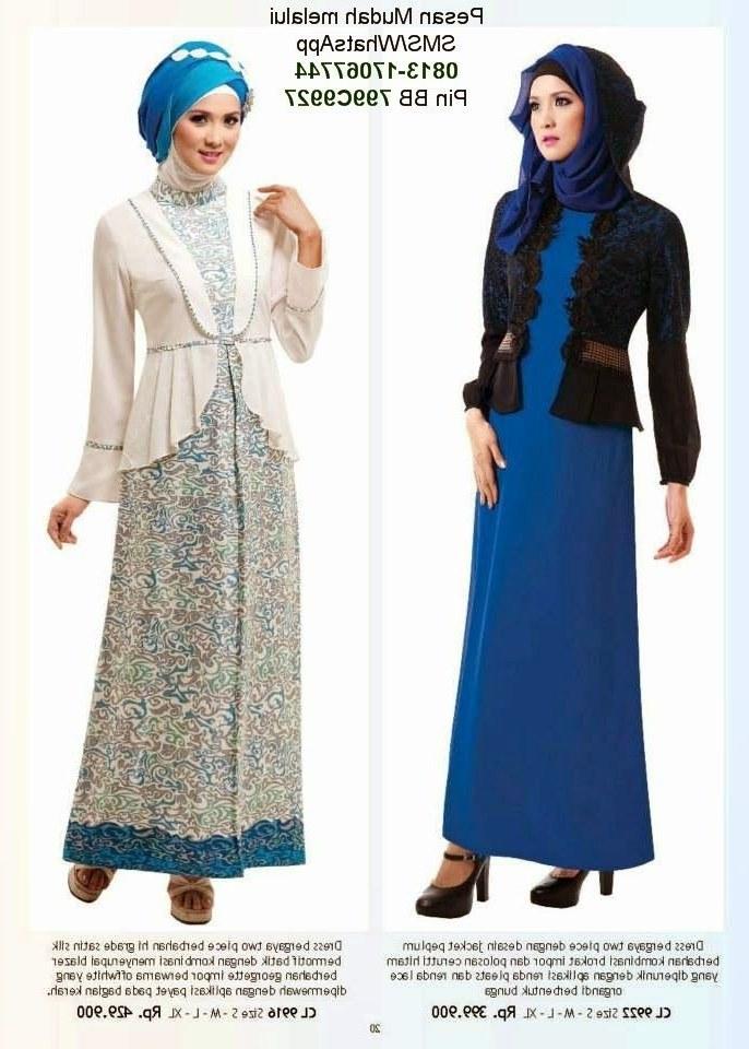 Ide Baju Lebaran Anak Muslim Qwdq Baju Lebaran Anak Wanita Cantik Berbaju Muslim