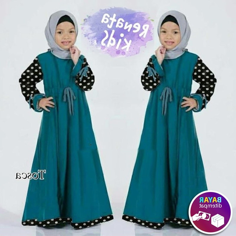 Ide Baju Lebaran Anak Perempuan Umur 9 Tahun 0gdr Review Busana Muslim Anak Perempuan Rona Kids Baju Muslim