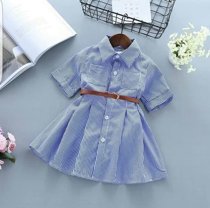 Ide Baju Lebaran Anak Perempuan Umur 9 Tahun U3dh Jual Dress Sinsin Baju Dress Katun Anak Perempuan Usia 3