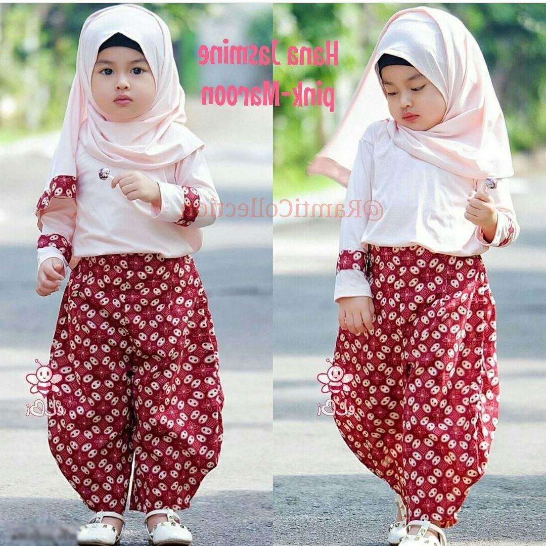 Ide Baju Lebaran Anak Usia 10 Tahun 9ddf Baju Batik Anak Perempuan Usia 1 Tahun Enje Batik