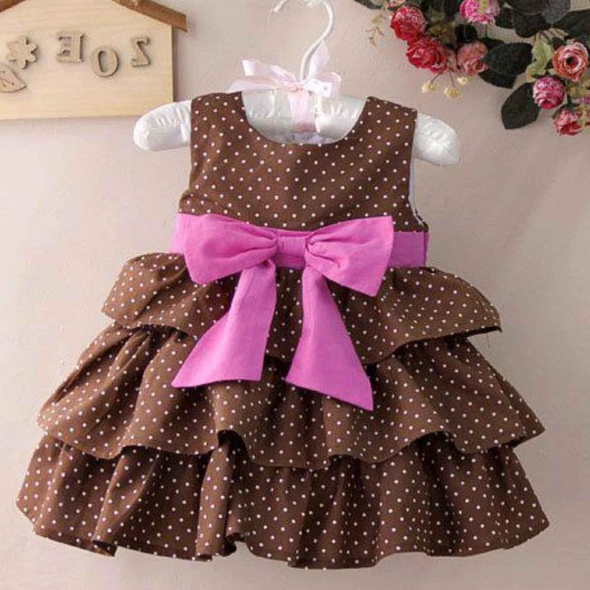 Ide Baju Lebaran Bayi Perempuan Y7du Model Baju Pesta Anak Perempuan