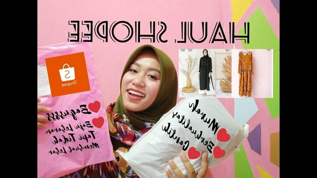 Ide Baju Lebaran Di Shopee Budm Haul Shopee Belanja Baju Lebaran Murah Dan Berkualitas