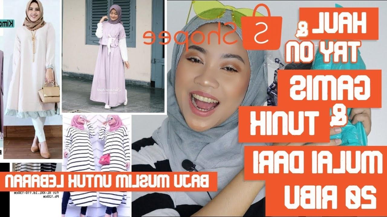 Ide Baju Lebaran Di Shopee X8d1 Haul Shopee Gamis Dan Tunik